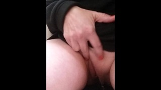 Desperation pee at the park. Hubby made me hold it.
