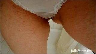 Piss in Cute Pink Thong